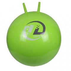 Мяч-попрыгун  ВВ-004GR-51 c рожками (55см, салатовый)