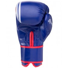 Перчатки боксерские Green Hill Knockout BGK-2266 10 унций, синий