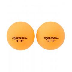 Мяч для настольного тенниса Roxel Swift 2* оранжевый, 6 шт.