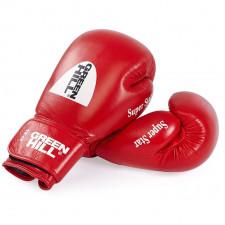 Перчатки боксерские Green Hill Super Star арт. BGS-1213c-12-RD, 12 унций, красные