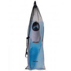 Ласты пластиковые Colton CF-02 р.35-37 серый/голубой