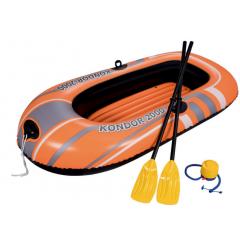 Лодка надувная Bestway 61062 Kondor 2000 c веслами (196х114см)