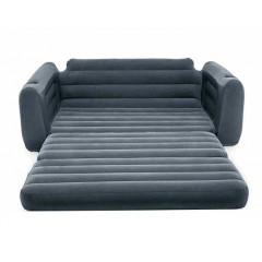 Надувной диван-трансформер двухместный Intex 66552 Pull-Out-Sofa (203х224х66см)