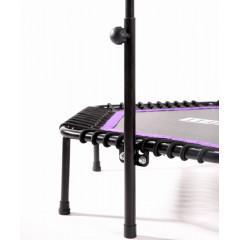 Батут BASEFIT TR-401 101 см с держателем, фиолетовый