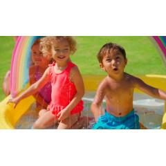 Надувной детский бассейн Intex 57156 (147х130х86см) 2+