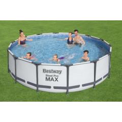Каркасный бассейн Bestway 56950 (427х107см) фильтр-насос, тент, лестница