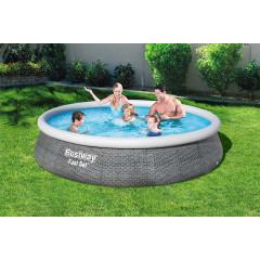 Надувной бассейн Bestway 57376 (396х84см) фильтр-насос