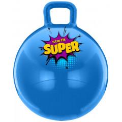 Мяч-попрыгун StarFit GB-0401 SUPER 45 см, с ручкой, голубой