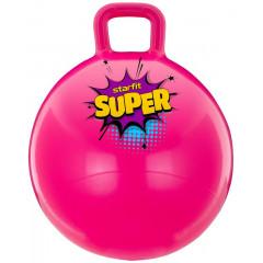 Мяч-попрыгун StarFit GB-0401 SUPER 45 см, с ручкой, розовый