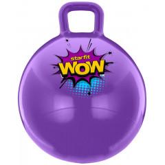 Мяч-попрыгун StarFit GB-0402 WOW 55 см, с ручкой, фиолетовый