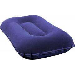 Надувная подушка Bestway 67121 Flocked Air Pillow (42х26х10см) синий