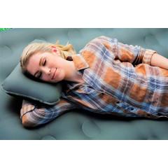 Подушка надувная Bestway 69034 Fabric Air Camp Pillow (42х26х10см) серый