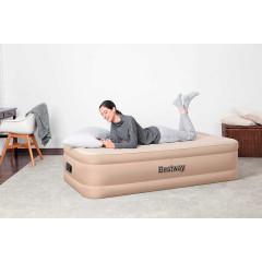 Односпальная надувная кровать Bestway 69048 Fortech Airbed + насос (191x97x46cм)