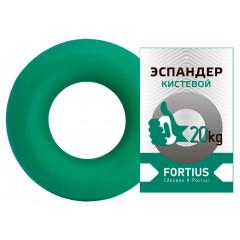 Эспандер-кольцо FORTIUS 20 кг зеленый