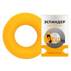 Эспандер-кольцо FORTIUS 40 кг желтый