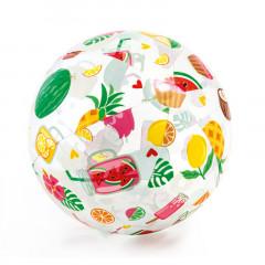 Надувной мяч Intex 59040NP Lively Print Ball (51см, 3+) фрукты