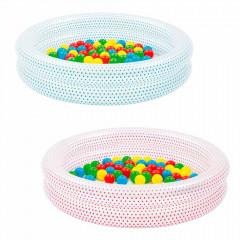 Детский надувной бассейн с мячами Bestway 51141