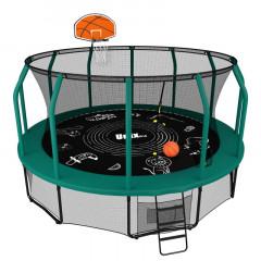 Батут UNIX line SUPREME GAME 16 ft + Basketball