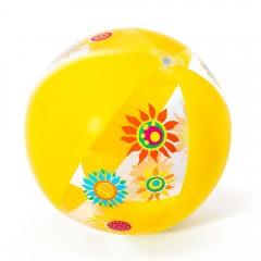 Мяч пляжный дизайнерский Bestway 31036 51 см желтый