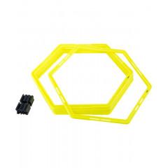 Набор шестиугольных напольных обручей Jogel Agility Hoops (JA-216) 6 шт