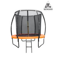 Батут DFC KENGOO II 6FT (183см) оранжевый/черный