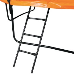 Батут DFC KENGOO II 8FT (244см) оранжевый/черный
