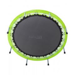 Батут BASEFIT TR-102 114 см, зеленый