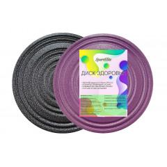 Диск здоровья SportElite SE-2020 фиолетово-черный
