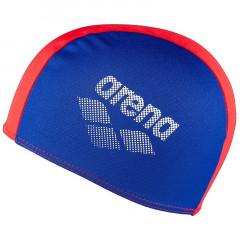 Шапочка для плавания детская Arena Polyester II Jr арт.002468740 сине-красная