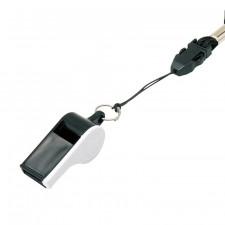 Свисток пластмассовый с шариком MIKASA WH-10BKW черно-белый