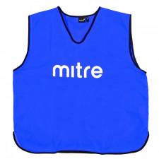 Манишка тренировочная Mitre арт.T21503RG2-SR р.SR (объем груди 122см), полиэстер, синий