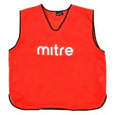 Манишка тренировочная Mitre арт.T21503RE1-SR р.SR (объем груди 122см), полиэстер, красный