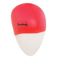 Шапочка для плавания FASHY Silicone Cap арт.3040-40, силикон, красный