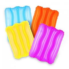 Надувная подушка Bestway 52127 Wave pillow (38х25х5см) 4 цвета, от 3лет уп.36*