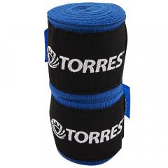 Бинт боксерский эластичный Torres арт.PRL62017BU длина 3,5 м, ширина 5,5 см