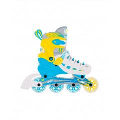 Ролики раздвижные Ridex Twist Yellow р.S (31-34)