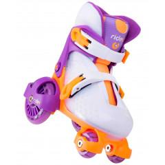 Ролики раздвижные Ridex Fortuna Purple р.XS (26-29)