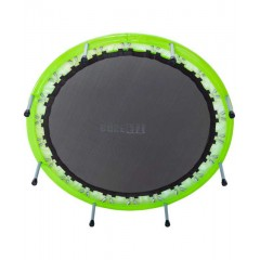 Батут BASEFIT TR-102  91 см, зеленый
