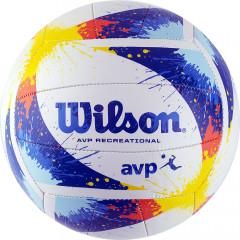Мяч волейбольный Wilson AVP Splatter арт.WTH30120XB р.5