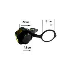 Клапан 2 в 1 Intex 10651 для матрасов Intex Classic 2-IN-1 VALVE