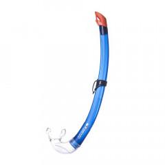 Трубка плавательная Salvas Flash Junior Snorkel арт.DA301C0BBSTS р.Junior, синий
