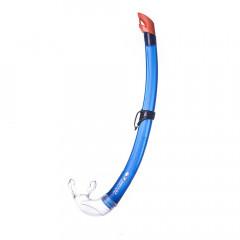 Трубка плавательная Salvas Flash Sr Snorkel арт.DA302C0BBSTS р.Senior, синий