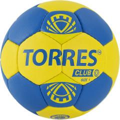 Мяч гандбольный Torres Club арт.H32141 р.1