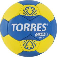 Мяч гандбольный Torres Club арт.H32142 р.2