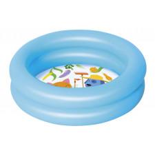 Детский круглый бассейн Bestway 51061 (61х15см) 21 л, голубой, 2+