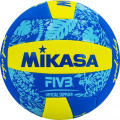 Мяч для пляжного волейбола MIKASA BV354TV-GV-YB р.5