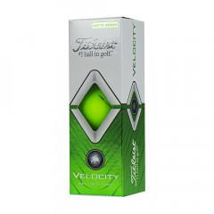 Мяч для гольфа Titleist Velocity арт.T8025-GR, 3 шт