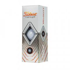 Мяч для гольфа Titleist Velocity арт.T8025-WT, 3 шт
