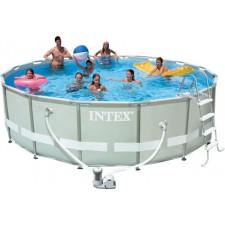 Бассейн каркасный INTEX 28322 ultra frame pool 488х122см