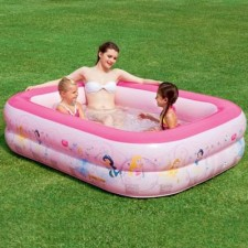 Бассейн надувной семейный Bestway 91056 Disney Princess 201х150х51 450 л